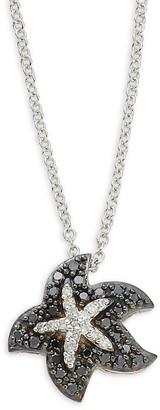 Effy 14K White Gold & Diamond Pendant Necklace