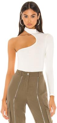 superdown Amrita Asymmetrical Bodysuit