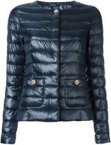 Herno puffer jacket - women - Polyamide/Feather Down/Cotton/Acetate - 40