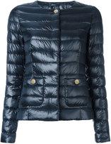 Herno puffer jacket - women - Polyamide/Feather Down/Cotton/Acetate - 42