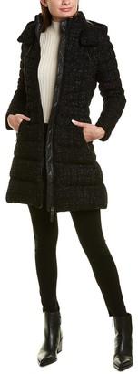 Mackage Lara Wool-Blend Down Coat