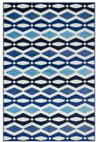 Loloi Rugs Loloi Juniper Collection Rug, Ivory and Blue