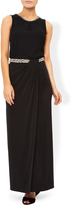 Monsoon Eden Embellished Waistband Maxi Skirt