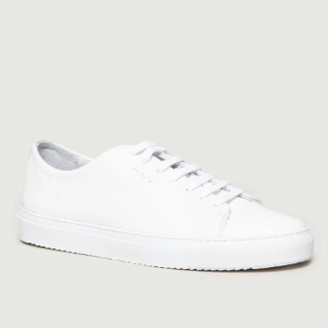 Axel Arigato White Leather Cap Toe Sneakers - leather | white | 39 - White/White