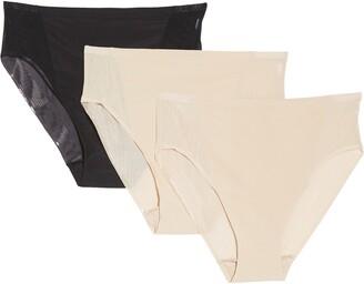 TC Pack of 3 Micro Mesh High-Cut Panties