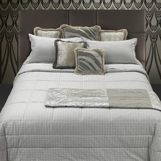 Roberto Cavalli Araldico Jacquard Bed Set - Pearl - King