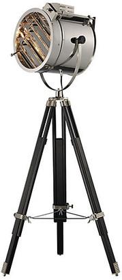 One Kings Lane Curzon Adjustable Floor Lamp - Chrome