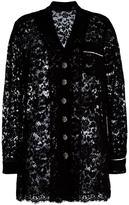 Dolce & Gabbana lace jacket - women - Silk/Cotton/Polyamide/Viscose - 38