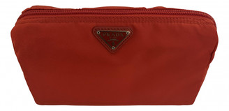 Prada Red Polyester Small bags, wallets & cases