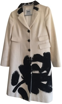 Moschino Cheap & Chic Moschino Cheap And Chic White Wool Coat for Women