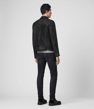 AllSaints Ronver Leather Biker Jacket