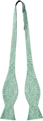 Jacob Alexander Men's Self Tie Freestyle Floral Bow Tie - Dusty Sage