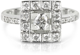Forzieri 0.51 ctw Diamond 18K White Gold Ring