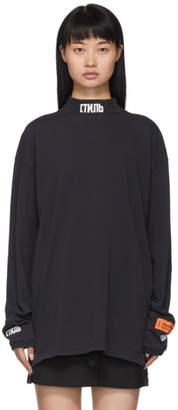 Heron Preston Black Style Long Sleeve T-Shirt