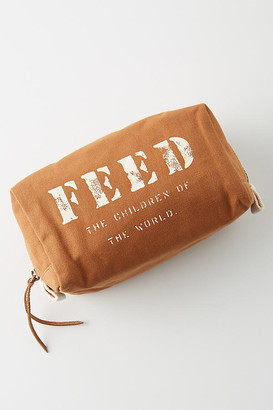 FEED Makeup Pouch By FEED in Brown Size ALL