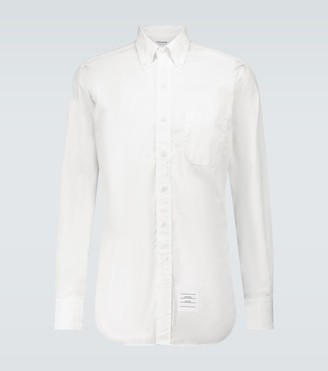 Thom Browne Classic poplin long-sleeved shirt