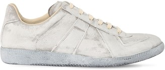 Maison Margiela Replica Leather Low Top Sneakers