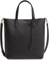 Saint Laurent Toy North/South Leather Tote