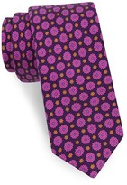 Ted Baker Men's Medallion Woven Silk Skinny Tie