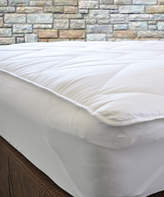 Natural Comfort Waterproof Fitted Mattress Pad