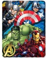 Marvel The Avengers Defend Earth Fleece Throw