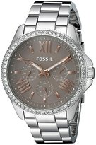 Fossil Women's AM4628 Cecile Multifunction Stainless Steel Watch
