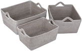 Baolgi - Asia Baskets - Set of 3 - White