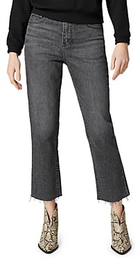 Jag Jeans Stella High Rise Straight Leg Jeans in Columbia