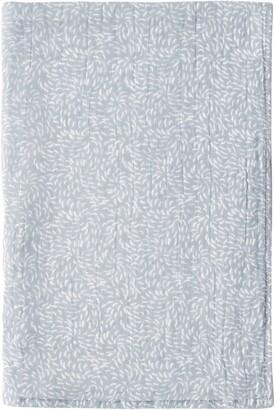 UCHINO Kiku Print Waffle & Pile Hand Towel
