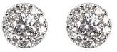 Aspinal of London Monaco 1.0ct Diamond Cluster Stud Earrings