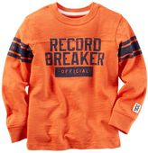 Carter's Boys 4-8 Distressed Graphic Long Sleeve Tee