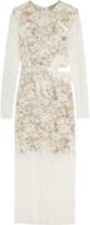 Preen by Thornton Bregazzi Galen cutout lace midi dress