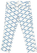 Isabel Marant Zigzag Print Skinny Jeans