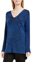 Women's Two By Vince Camuto 'Traveling Stitch' V-Neck Tunic