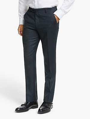 Hackett London Chelsea Tailored Fit Suit Trousers, Navy