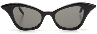 Gucci Curved Cat Eye Frame Sunglasses