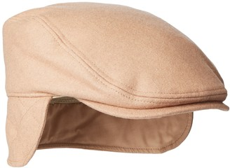 Dockers Solid Melton Hat with Fold-Down Ear Flaps