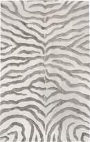 nuLoom Plush Wool Blend Rug - Grey