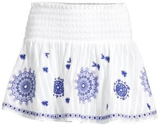 Ramy Brook Judas Smocked Skirt