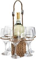 Artland Oasis Garden Terrace Wine Tote Set