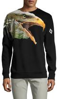 Marcelo Burlon County of Milan Eagle Print Crewneck Sweatshirt