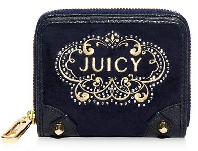 Juicy Couture Juicy Ornate Velour Small French Purse