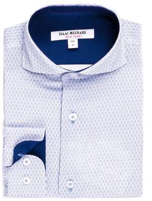 Isaac Mizrahi Emblem Printed Shirt (Toddler, Little Boys, & Big Boys)