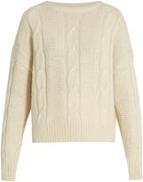 Nili Lotan Felice cable-knit alpaca-blend sweater