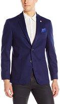 Ben Sherman Men's Slim Fit Two Button Soft Construction Knit Blazer