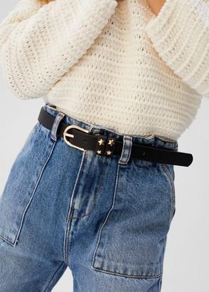 MANGO Metallic star belt