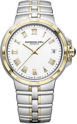 Raymond Weil Parsifal Two-Tone Stainless Steel Bracelet Watch - #5580-STP-00308
