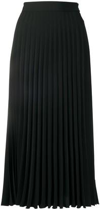 MM6 MAISON MARGIELA Pleated Mid-Length Skirt