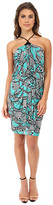 T-Bags LosAngeles Tbags Los Angeles Halter Front Knot Dress