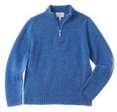 Baby CZ Boys' Blue Cashmere Sweater.